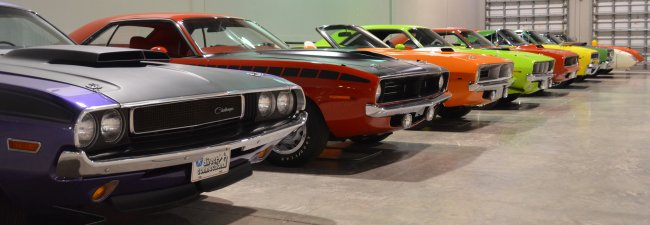 Rare American Muscle Cars Of The Styles Collection